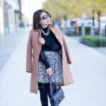 Winter Favorites | Camel Coat + Leopard Skirt