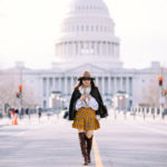 Capitol Hill | Wool Blazer + Preppy Skirt