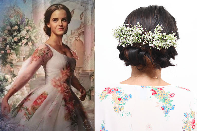 Three ways to style disney 39 s beauty the beast belle 39 s for Wedding dress like belle from beauty and the beast