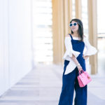 Spring in DC | Cascading Sleeves + Jumpsuit Overalls