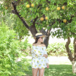 Springtime in Phoenix | Two-Piece Off-Shoulder Romper