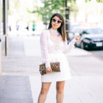 Monotone Monday | Off-White Separates + Leopard Accents