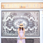 Du Pain et Des Idées | Blue Midi Dress + Bucket Bag