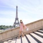 Paris Me Manque | Crochet Pom Pom Dress
