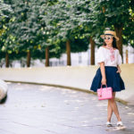Autumnal D.C. | Puffed Sleeved Top + Skirt