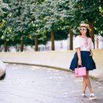 Autumnal D.C. | Puffed Sleeved Top + Skirt